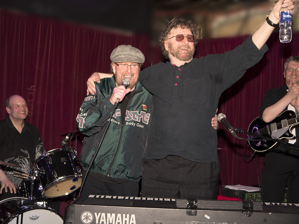 Picture: Roy Young and Chas Hodges