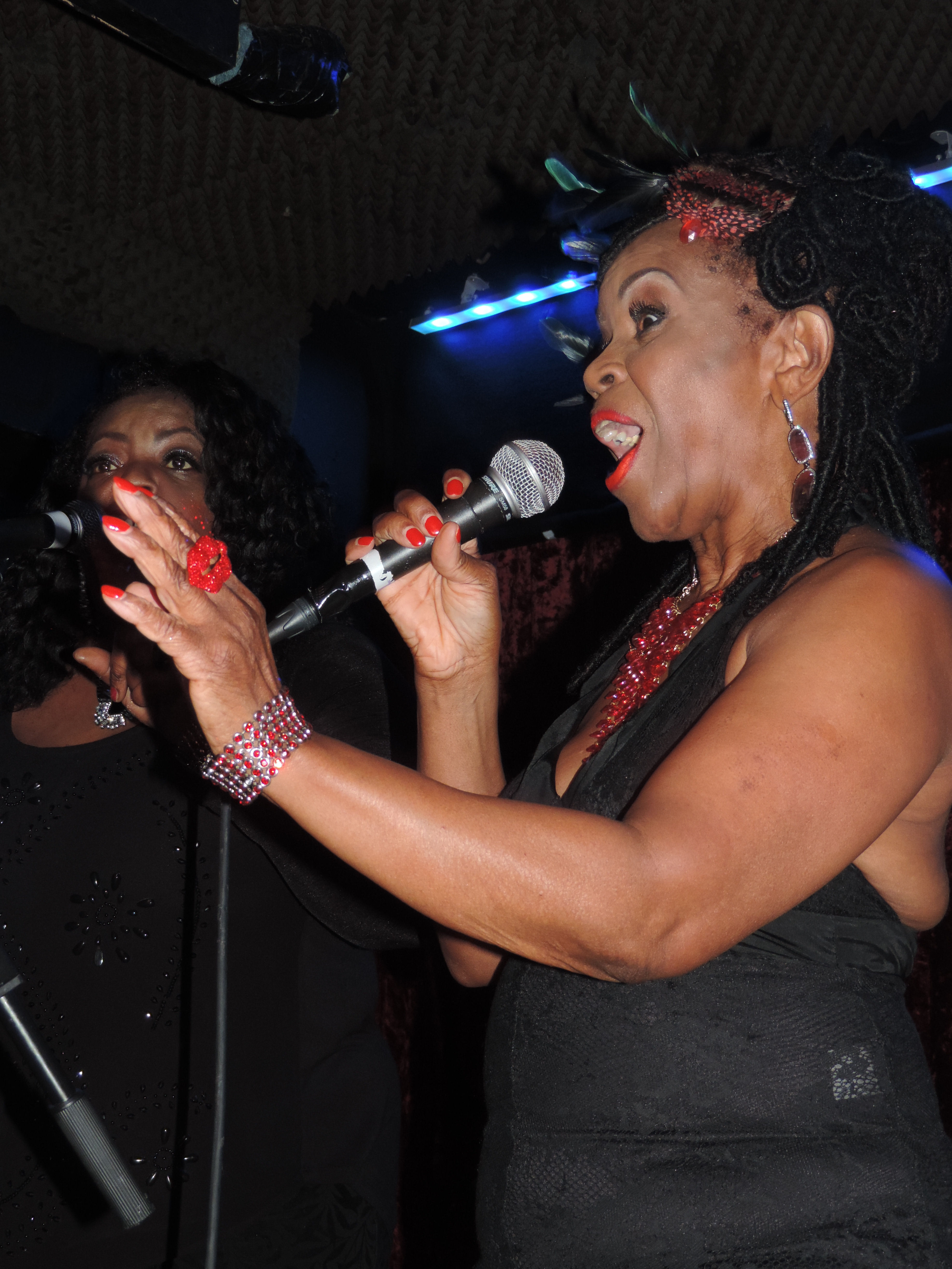Picture: P P ARNOLD at The Borderline